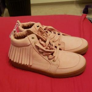 Old Navy Pink Fringe Sneakers